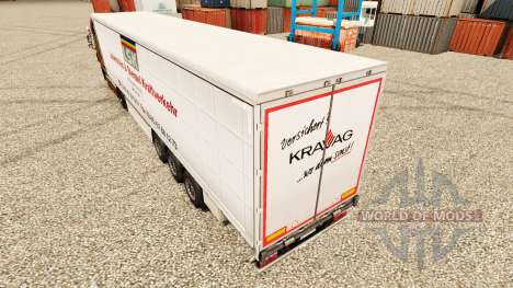 Skin LSK to trailers for Euro Truck Simulator 2
