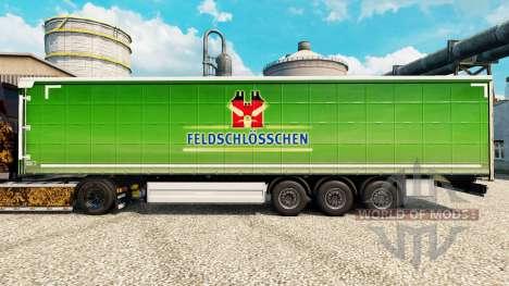 Skin Feldschlosschen for trailers for Euro Truck Simulator 2