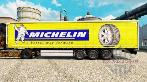 Skin Michelin Latitude on semi for Euro Truck Simulator 2