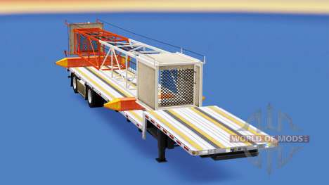 Low sweep with building materials for American Truck Simulator
