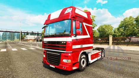 Metallic skin for DAF truck for Euro Truck Simulator 2