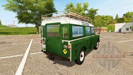 Land Rover Series IIa Station Wagon 1965 for Farming Simulator 2017