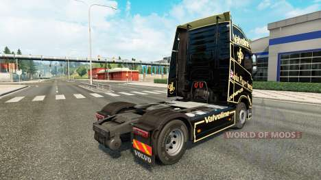 A John Player Special skin for Volvo truck for Euro Truck Simulator 2