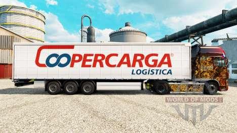 Skin Coopercarga for trailers for Euro Truck Simulator 2
