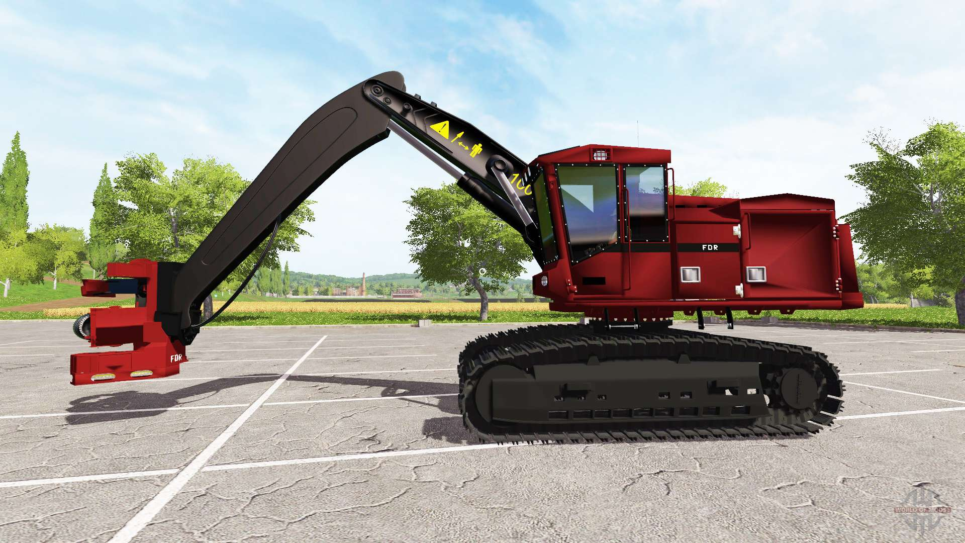 Mercedes Benz Service B Cost >> Excavator-harvester for Farming Simulator 2017