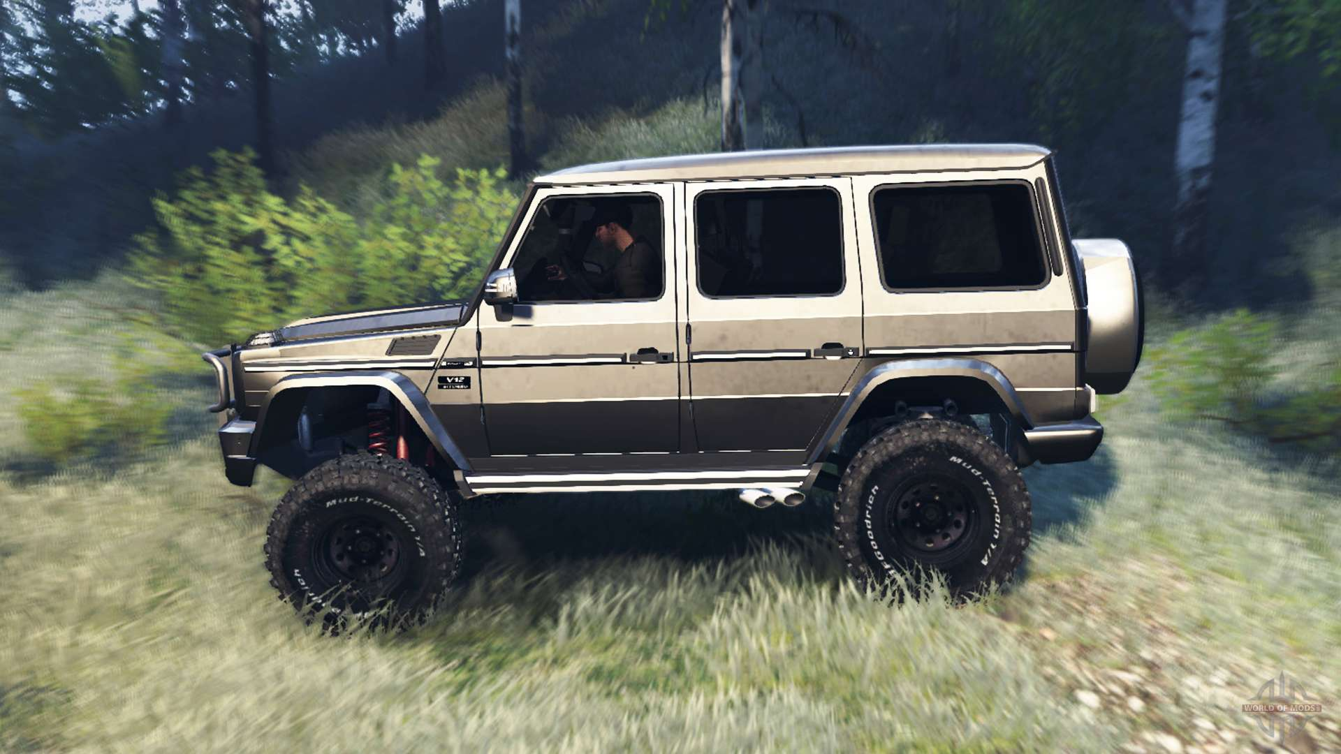 Mercedes benz g65 amg v6 0 for spin tires for Mercedes benz v6
