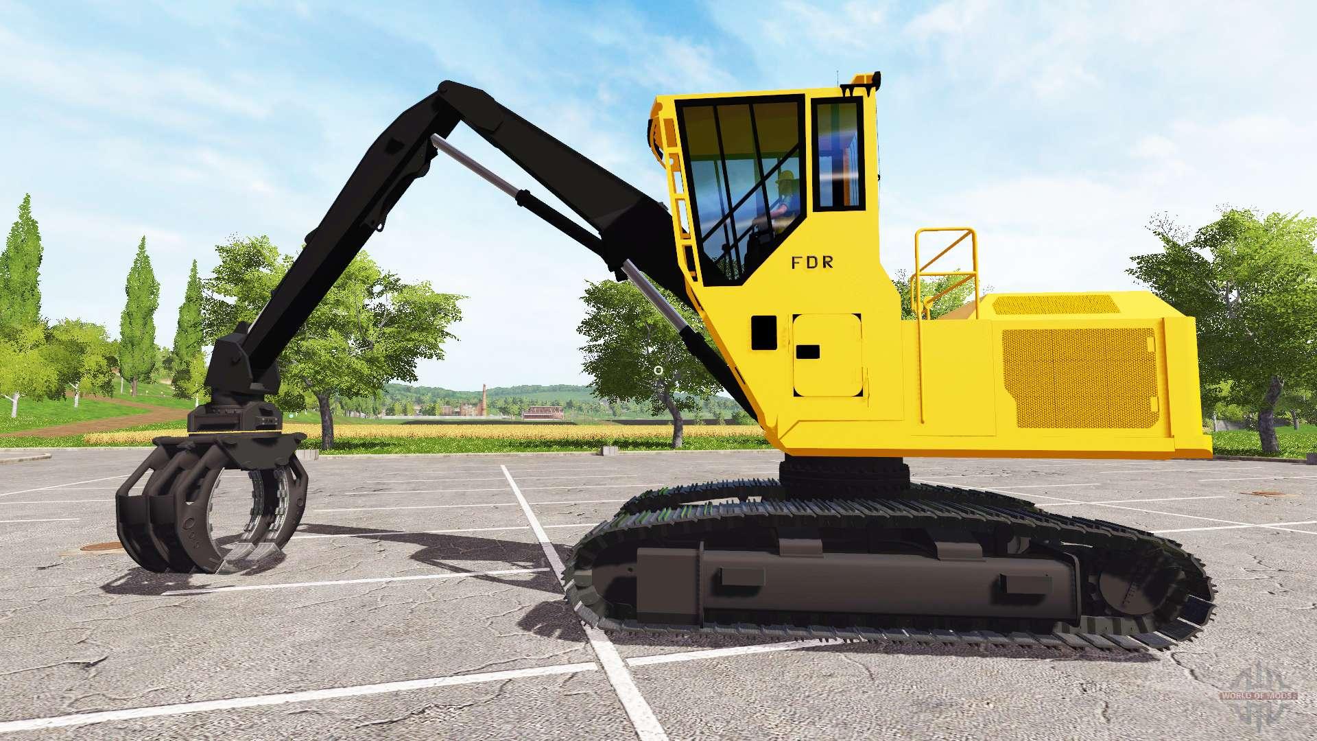Mercedes Benz Service B Cost >> Boom bucket backhoe loader for Farming Simulator 2017