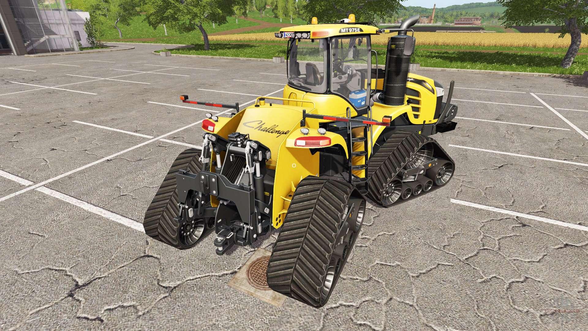 Challenger Mt975e Caterpillar For Farming Simulator 2017