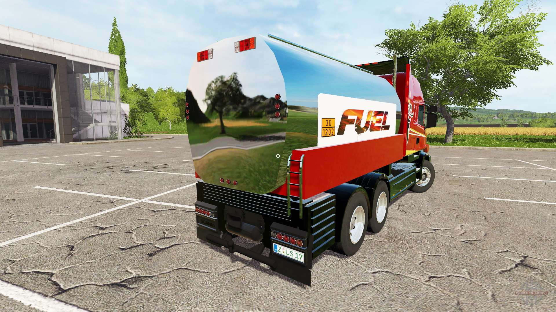 Scania t164 fuel for farming simulator 2017 for Cuve fuel exterieur