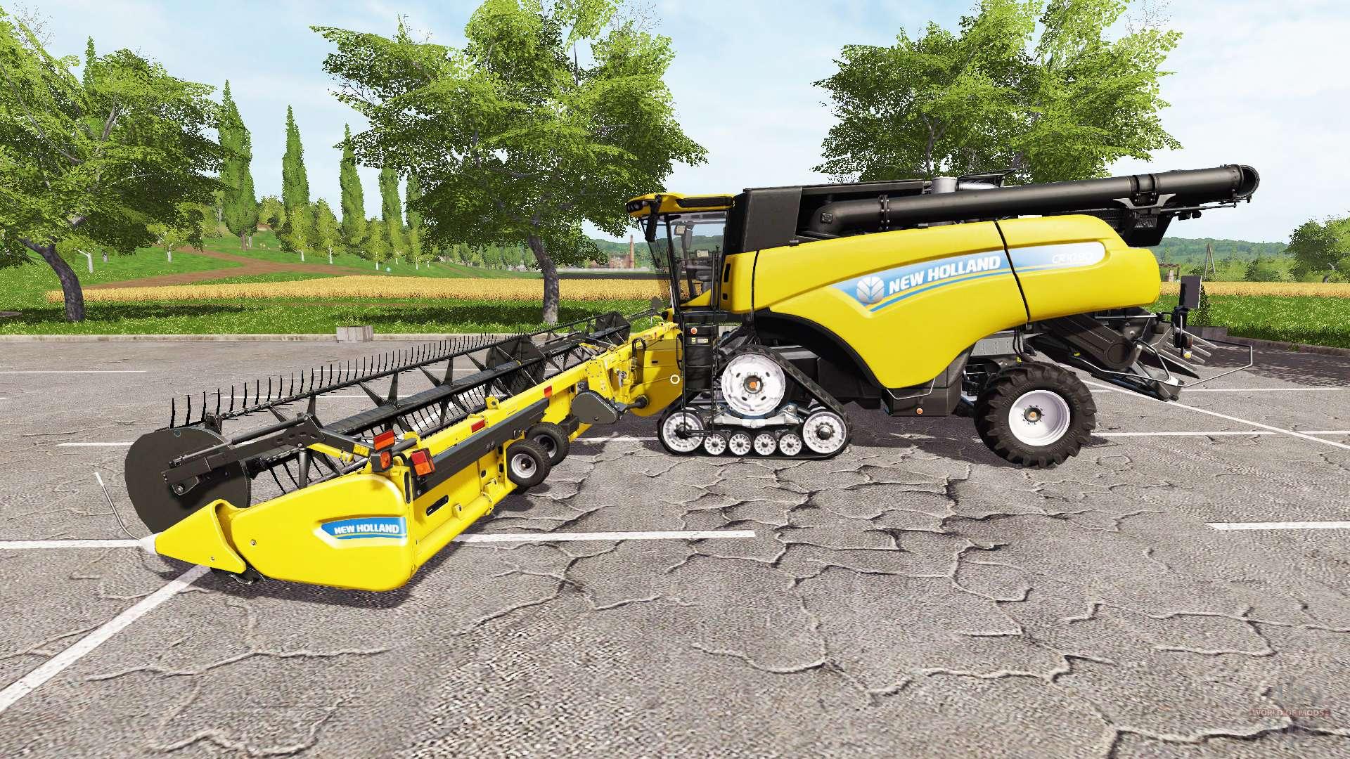 New Holland CR10 90 multicolor v2 0 for Farming Simulator 2017