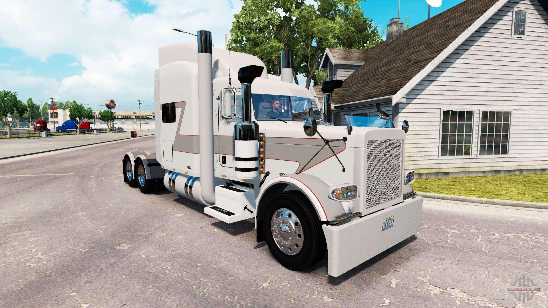 Bullhorn skin for the truck Peterbilt 389 for American Truck Simulator