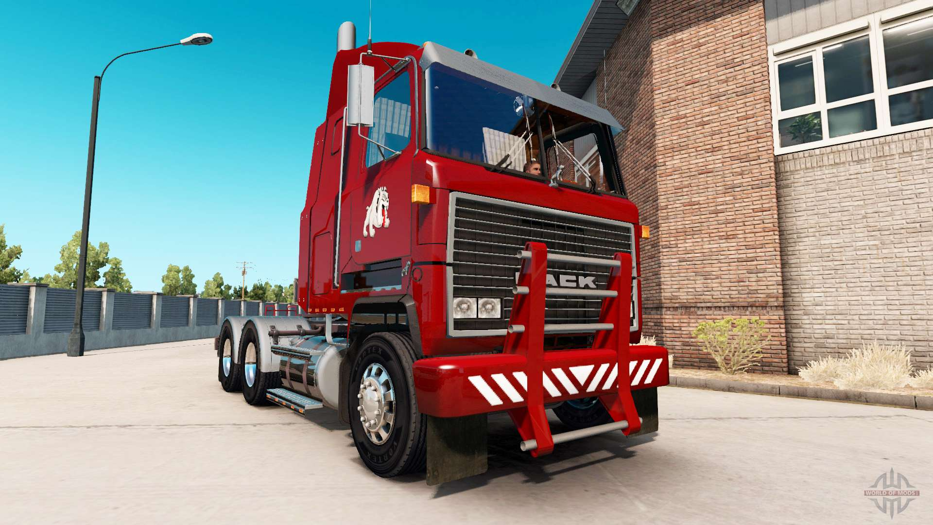 Mack Truck Fertilizer : Heavy duty bumper for mack mh ultra liner american