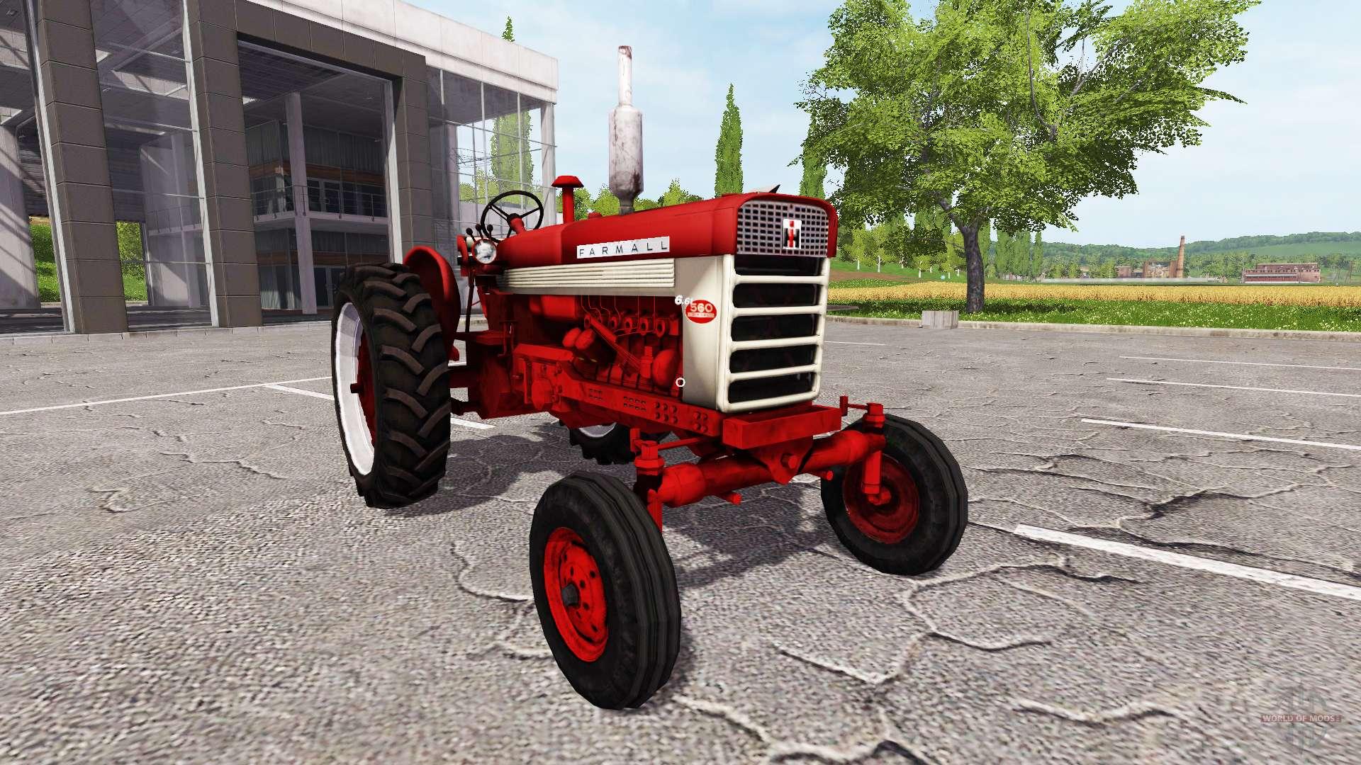 Farmall 560 Rear Wheels : Farmall for farming simulator