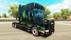 Monster Energy skin for the Scania T tractor uni