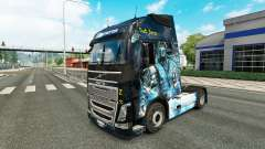 Skin is Sub-Zero on the Volvo trucks