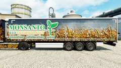 Monsanto Bio skin for trailers for Euro Truck Simulator 2