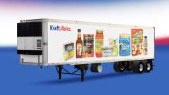 Skin Kraft Heinz on the trailer