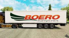 Boero Transportes skin for trailers for Euro Truck Simulator 2