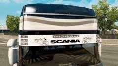 Sun visor Scania v2.0