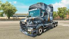 Dragon v2 skin for truck Scania T for Euro Truck Simulator 2