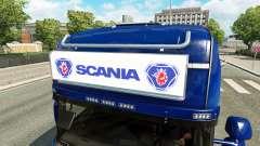 Advertising light box for Scania