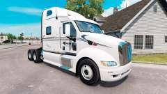 Raven skin for the truck Peterbilt 387 for American Truck Simulator