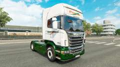 Skin Panexpress on tractor Scania