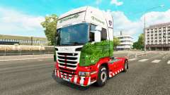 Skin ETS2Studio on tractor Scania