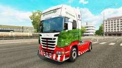 Skin ETS2Studio on tractor Scania