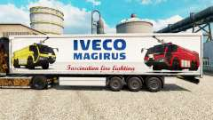 Skin Iveco Magirus for trailers