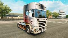 Skin World Cup 2014 on tractor Scania