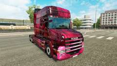 Weltall skin for truck Scania T