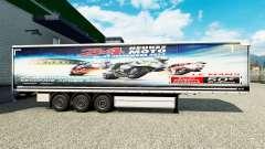 Skin 24heures du mans MOTO trailers
