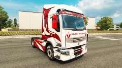 Skin Metallic for tractor Renault