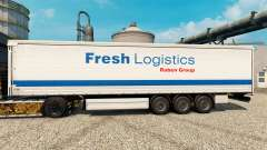 Fresh Logistics skin for trailers