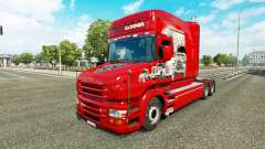 Skin Scania History on the truck Scania T