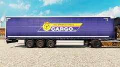 Skin PKS International Cargo S. A. on the traile