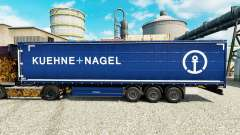 Skin Kuehne Nagel for semi-trailers