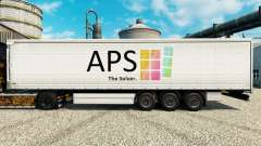 Skin APS for trailers for Euro Truck Simulator 2