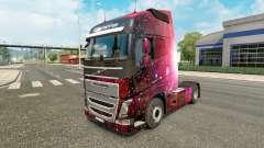 Weltall skin for Volvo truck
