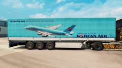 Skin Korean Air to trailers