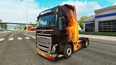 Cubical Flare skin for Volvo truck