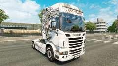 Skin Last Dragon on tractor Scania