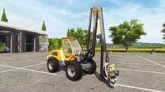 Sampo Rosenlew HR46X full cranecontrols for Farming Simulator 2017