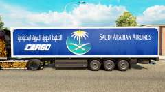 The skin Saudi Arabian Airlines to trailers