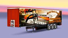 The Spike Trans Logistic skin for trailers