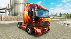 Fire Effect skin for Iveco tractor unit
