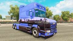 Euro Trans skin for Scania T truck for Euro Truck Simulator 2