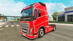 Simple skin for Volvo truck for Euro Truck Simulator 2