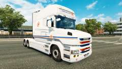 Transalliance skin for Scania T truck